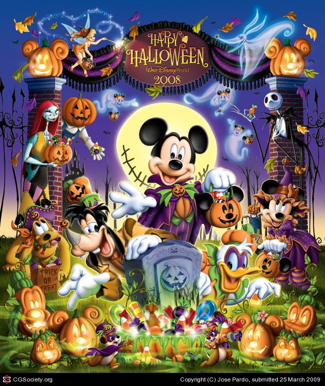 Halloween Disney World