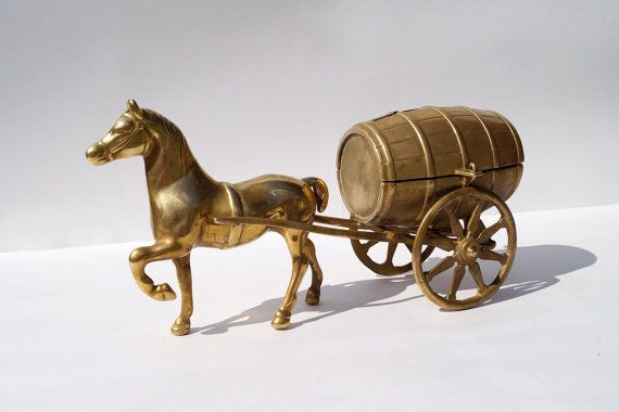 Brass savings bank for money  solid  sculpture: a by UKAmobile