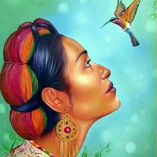 El colibrí simboliza muchos conceptos diferentes . Debido a su velocidad, el colibrí es conocido como un mensajero y tapón de tiempo. También es un símbolo de amor , alegría y belleza. El colibrí también es capaz de volar hacia atrás , enseñándonos que podemos mirar hacia atrás en nuestro pasado …