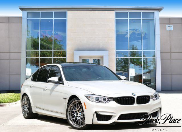 Awesome Great 2017 BMW M3 Base Sedan 4-Door 2017 Sedan Used Twin Turbo Premium Unleaded I-6 3.0 L/182 Automatic RWD White 2018
