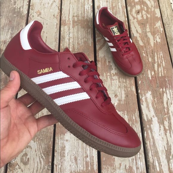 Shop destinflexin's closet or find the perfect look from millions of stylists. Fast shipping and buyer protection. These leather sambas are rare and hard to find in stores. Only worn 2-3 times. Ships with original box. Give me your best offer! Willing to trade 🔄