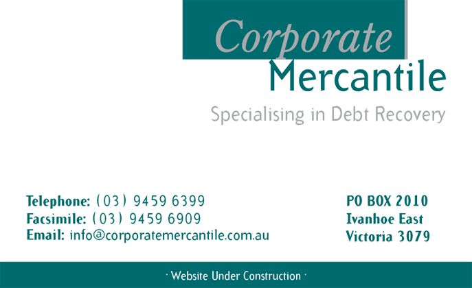 Click to contact Corporate Mercantile - Specialising in Debt Recovery