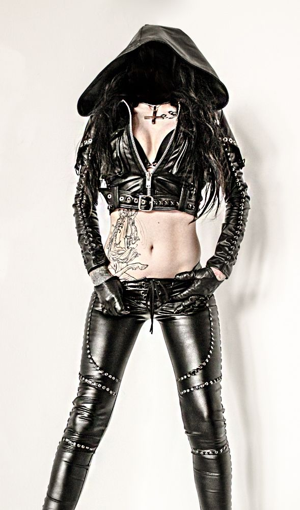 TOXIC VISION studded cigarette pants — Toxic Vision