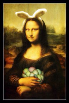 Happy Easter Mona Lisa
