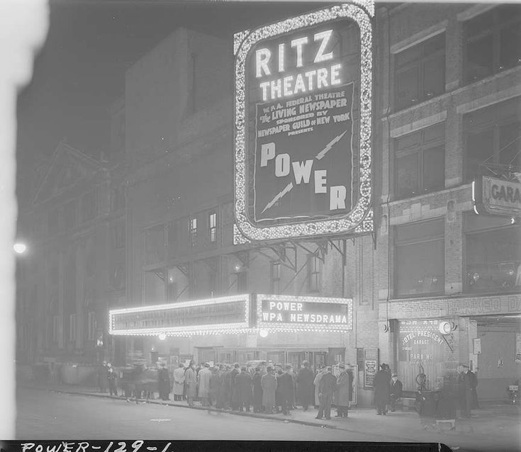 the federal theatre project The following video provides a brief introduction to the federal theatre project, one of the many new deal programs started by franklin roosevelt like.