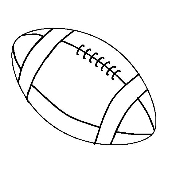 Football Coloring Book | Coloring Page | Coloring books ...