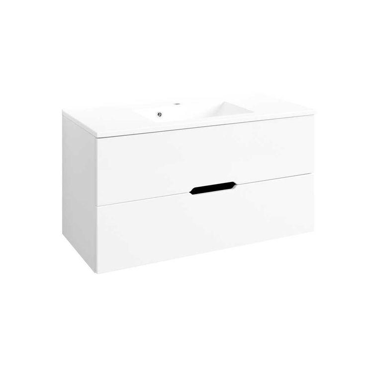 Waschbeckenschrank in Hochglanz Weiß 100 cm Jetzt bestellen unter: https://moebel.ladendirekt.de/bad/badmoebel/waschbeckenunterschraenke/?uid=74fd5979-2886-5523-a35f-b6489ebb21f8&utm_source=pinterest&utm_medium=pin&utm_campaign=boards #waschtischunterbau #waschschrank #badezimmerkommode #beis #bad #waschtischkonsole #waschbeckenunterschrank #badezimmerschrank #schrank #badschrank #badmoebel #waschbeckenschrank #waschtischunterschrank #waschtisch #badeschrank #waschkommode #badezimmer…