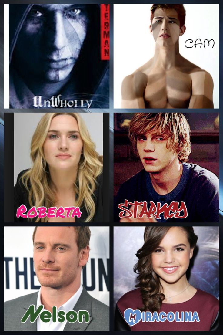 My unwholly dream cast this would be perfect things i