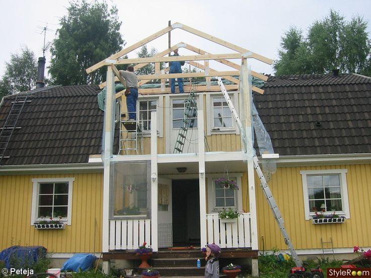 balkong,huset,entre,bron