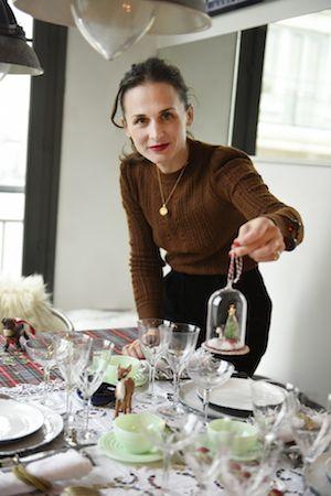 パリジェンヌ流、ホリデイシーズンを彩るテーブルコーデTIPS、コンスタンス・ゲナリ(Constance Gennari)