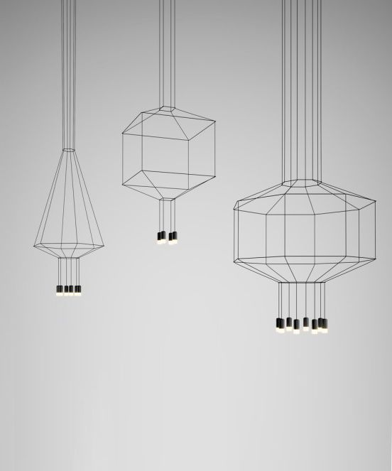 VIBIA Wireflow pending lamp