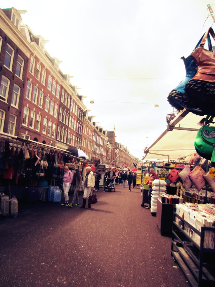 Amsterdam, market