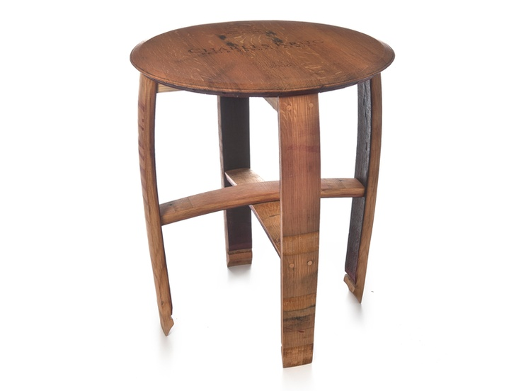 Wine Cask End Table for $149.99