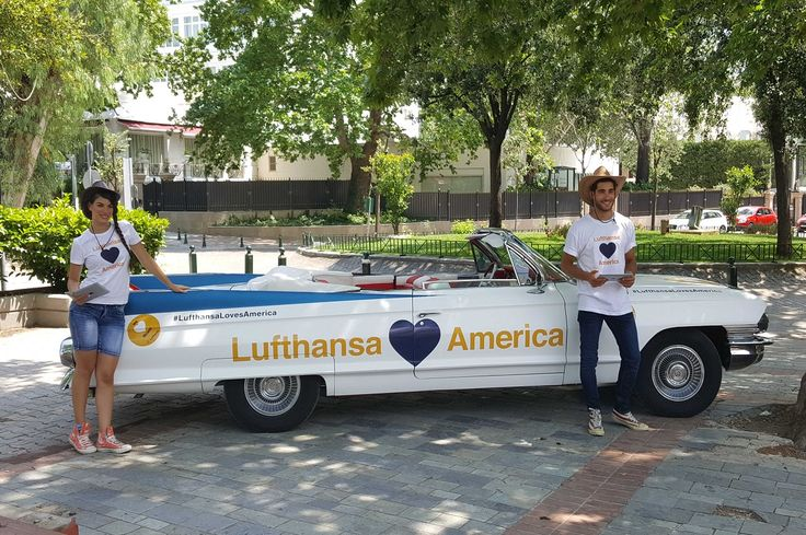 'Lufthansa Loves America' and Launches Travel Contest in Athens.