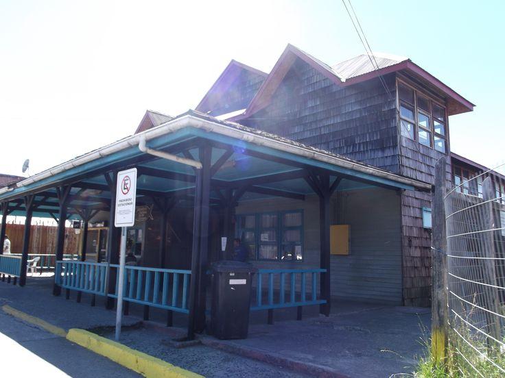 Biblioteca de Quemchi. isla grande de Chiloé.