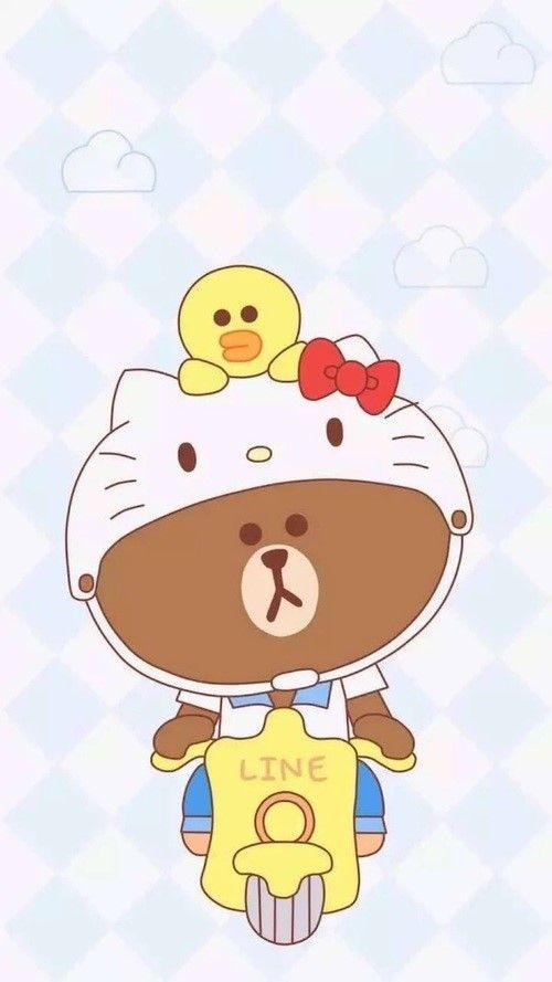 d350e33c2 2019的103번째이미지| Kids and parenting | Hello kitty wallpaper、Line friends 和 Kitty wallpaper