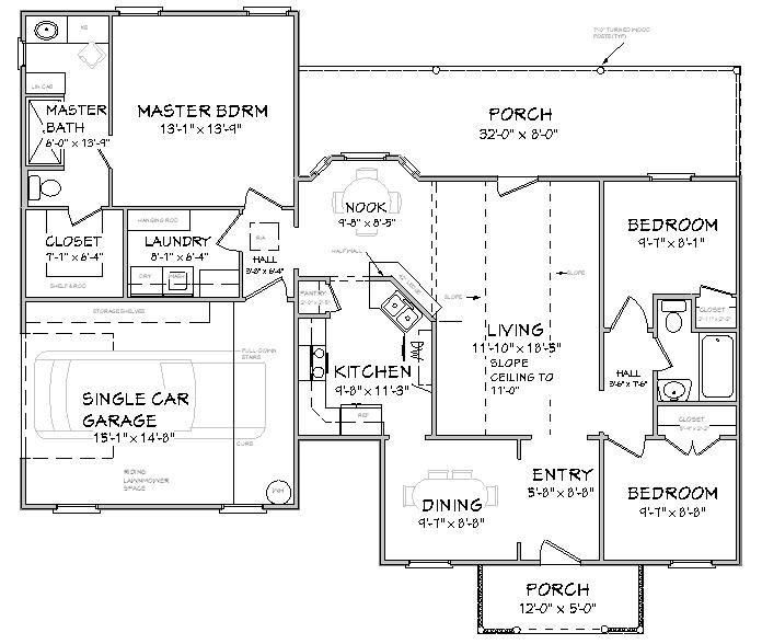 tek katlı villa planları 4+1 - Google Search