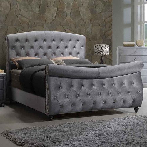 Found It At Wayfair Hudson Upholstered Sleigh Bed