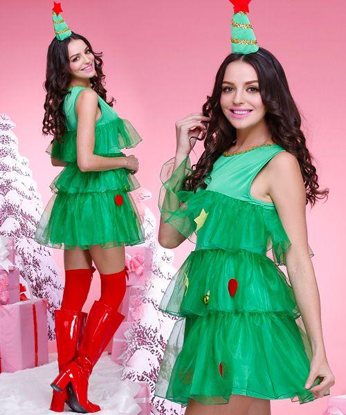 クリスマスツリー コス Christmas Tree Cosplay クリスマス衣装 コスプレ衣装 サンタ コスプレ。コスプレ衣装販売、クリスマス衣装 通販。産地より直送ですので、激安、