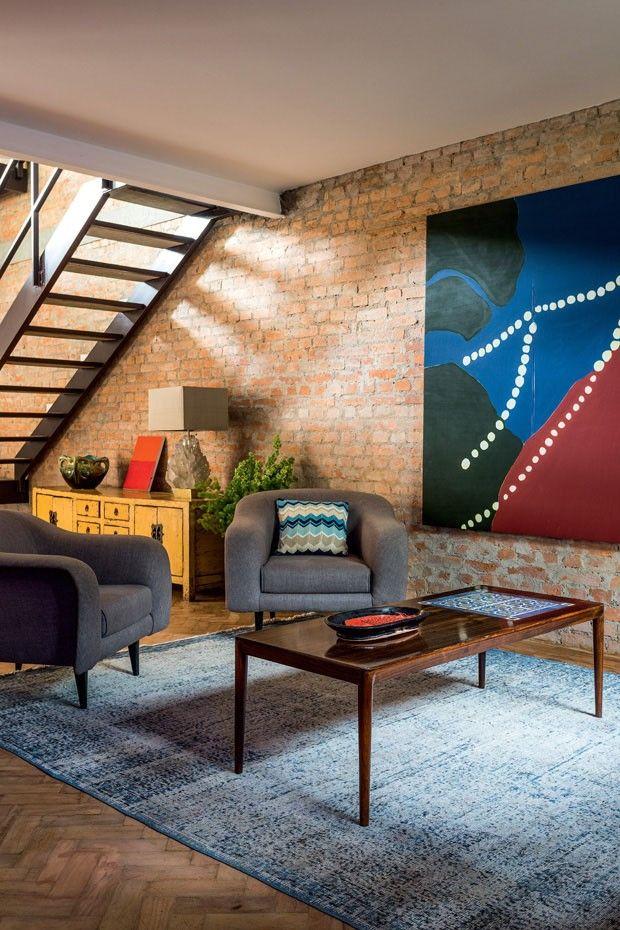 A casa dos galeristas Matthew Wood e Pedro Mendes em SP