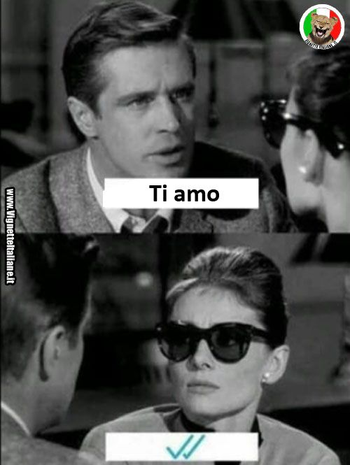 L'amore ai tempi delle chat  (www.VignetteItaliane.it)