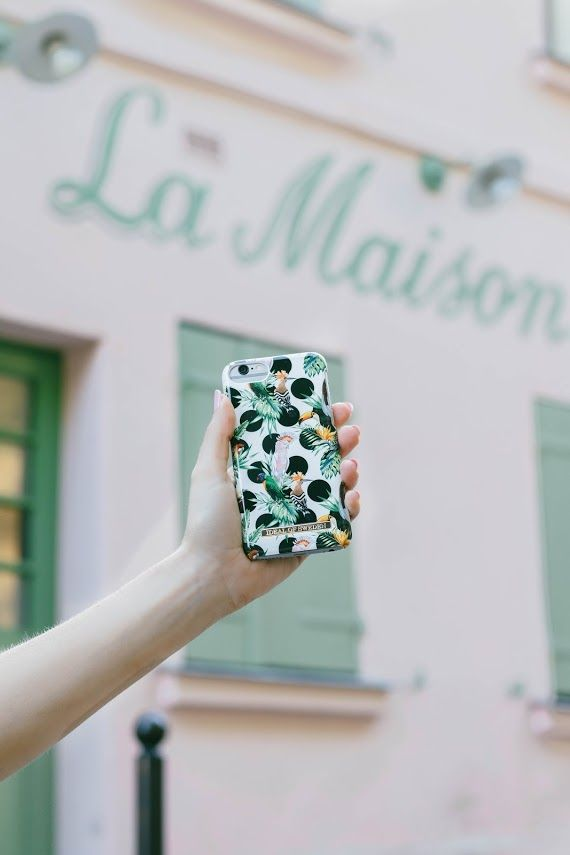 Tropical Dots by @light.travels - Fashion case phone cases iPhone inspiration iDeal of Sweden #tropical #pattern #accessories #phonecase #iphone #fashion #details #dots