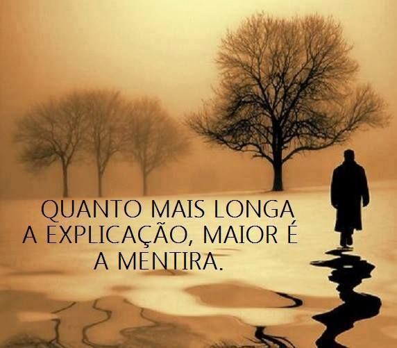 mientras mas larga es la explicacion, mas grande es la mentira                                                    the longer the explanation,the bigger the lie