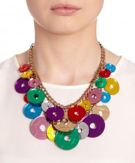 Sequin Party Statement Necklace