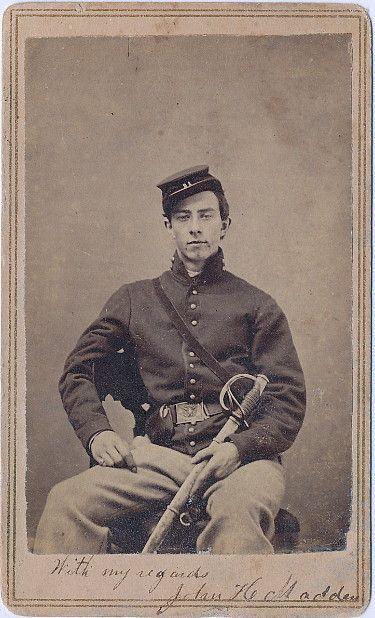 John H. Madden of the 21st New York Cavalry