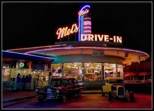 Mel's Drive-In - from American Graffiti -   in Windhover, Orlando, Florida