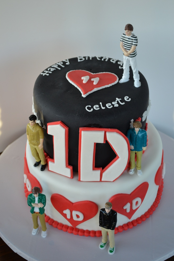 One Direction Birthday Cake My Creations Pinterest