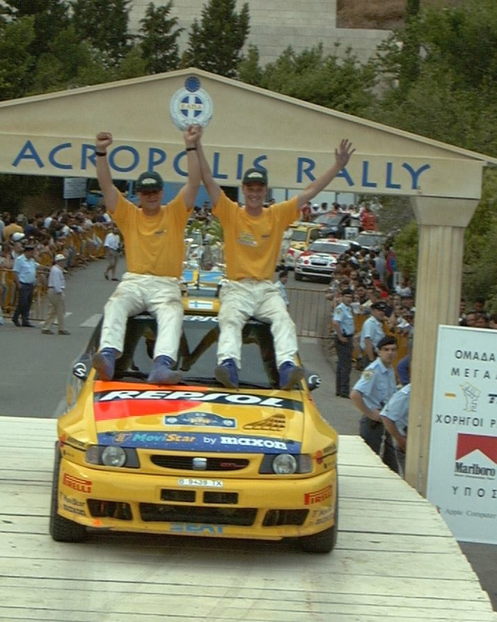 1998 ACROPOLIS RALLY OF GREECE - SEAT Ibiza GTi 16V Evo 2 A7. Entrant: SEAT Sport. Drivers: Harri Rovanperä (FIN) /  Risto Pietiläinen (FIN). Place: 15th o/a.