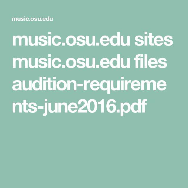 music.osu.edu sites music.osu.edu files audition-requirements-june2016.pdf