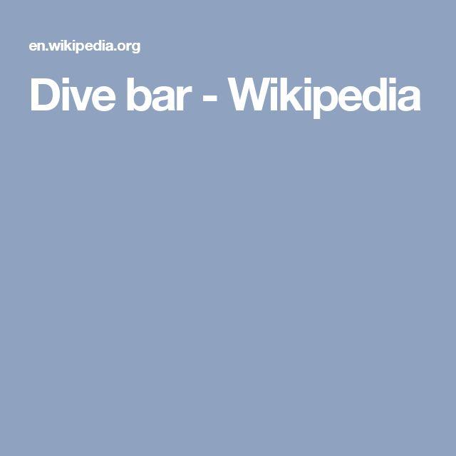 Dive bar - Wikipedia