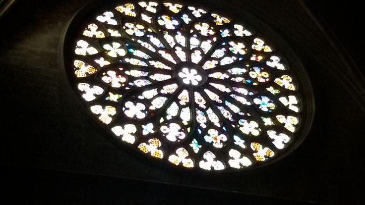 15/04/2015 Barcelona, Lights Santa Maria del Pi by Luz Divina Balihar #barcelona #barri #gothic #lights #pi #church