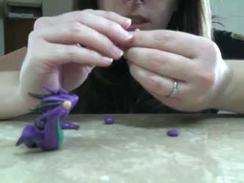 Polimery clay dragons tutorial! Want to try to make it! Her dragons are really beautiful!!