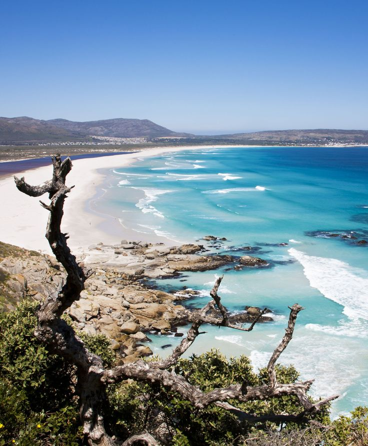Noordhoek Beach, Cape Town, South Africa. A magnificent stretch of sandy beach.
