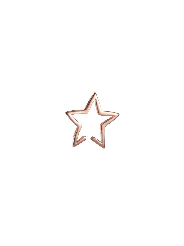 Star Cuff Rose Gold