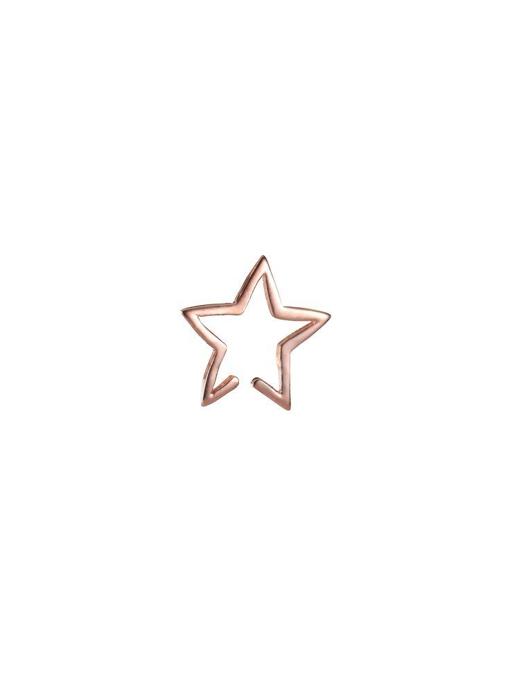 Star Cuff Rose Gold