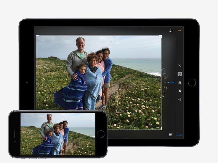 Toutes vos photos sur tous vos appareils - Conseils et astuces pour iOS10 sur iPad - Assistance Apple