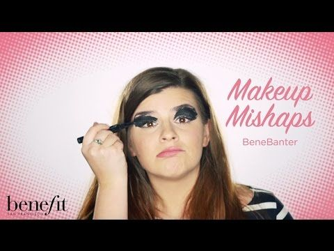Benefit Cosmetics UK & Ireland - YouTube. Benebanter: makeup mishaps! xx