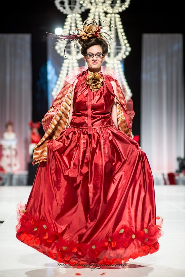 Beautiful dresses hand made by local designer in Edmonton YEG. Festival of trees fashion show luncheon 2012 Nov 30