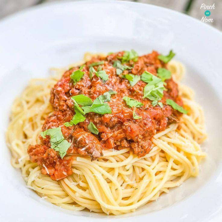 Syn Free Spaghetti Bolognese | Slimming World