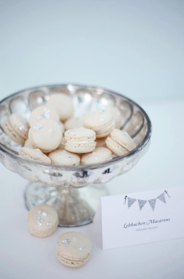 Winter Wonderland macarons #RogersWinterWhites