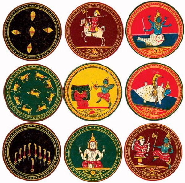 ganjifa cards - Bing Images