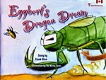 """""""Eggbert's Dragon Dream"""" by Frank Glew >> life cycle, insects, respect"""