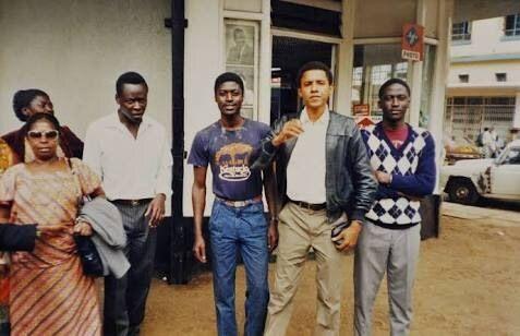 Obama's visit to Kenya, 1987