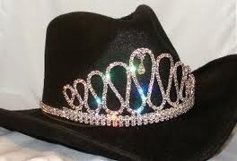 Sweet 16 Cowgirl Hat With Crown. It combines my love of cowgirl hats and sparkly things!