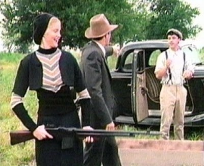 Bonnie And Clyde Pics >> Tracey Needham, Dana Ashbrook, and Billy Morrissette in the 1992 movie Bonnie and Clyde: The ...