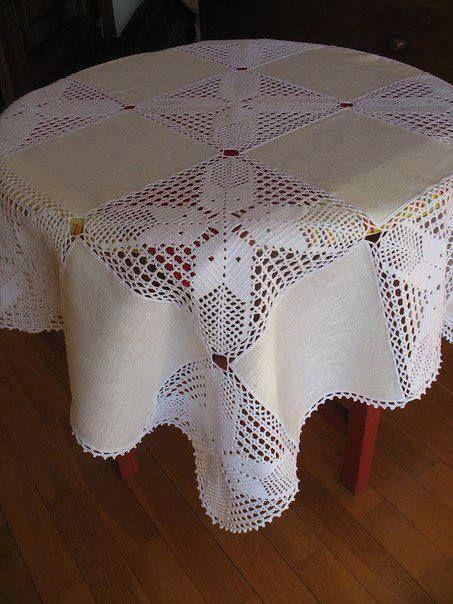 Dantel masa örtüsü yapma